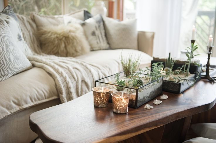 Small nature-inspired details, like the terrariums and shearling at this Maui co...