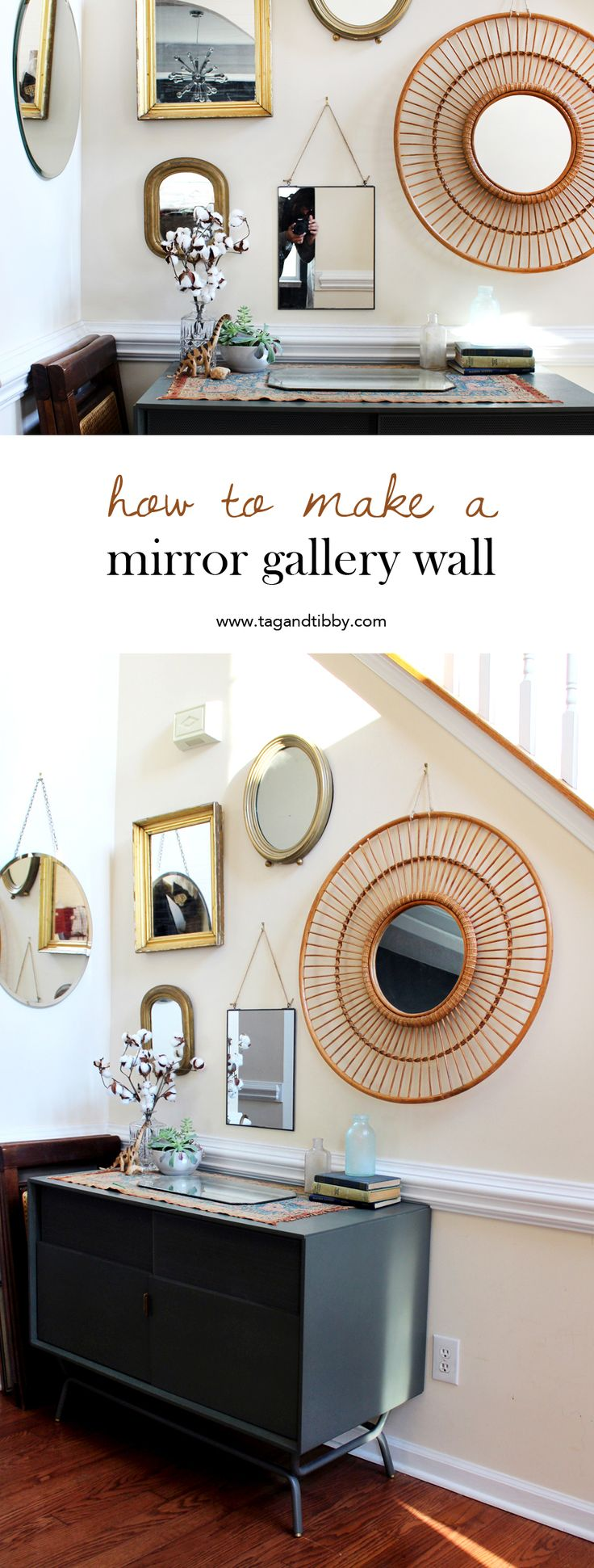 Home Decorating Diy Projects 5 Tips For Designing Your Own Mirror Gallery Wall Tag Tibby