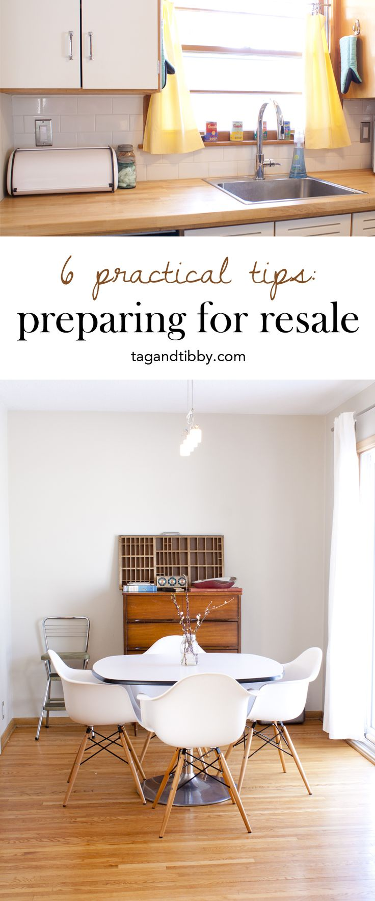 Home decorating diy projects 6 practical tips preparing for resale tag tibby decor - Practical home tips easy solutions ...