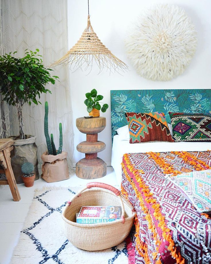 Home Decorating DIY Projects Boho bedroom