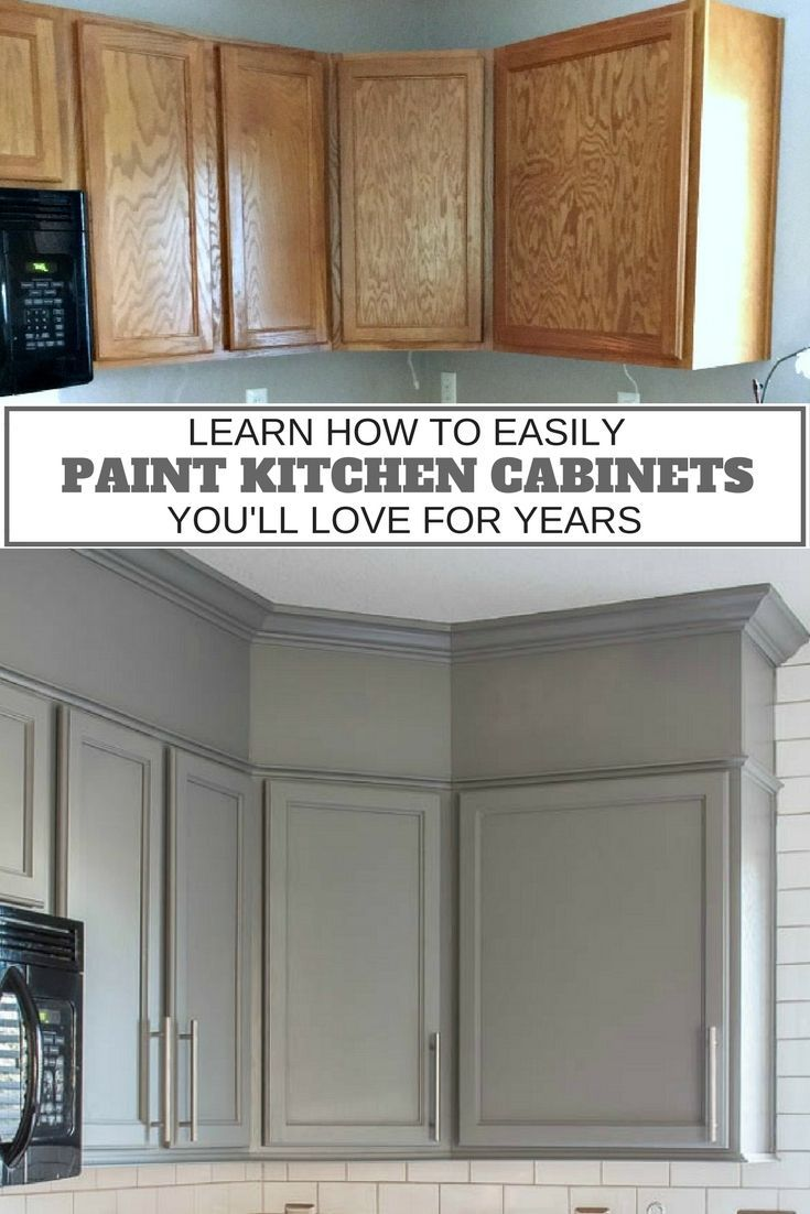 Home decorating diy projects how to easily paint kitchen for Best diy kitchen cabinets