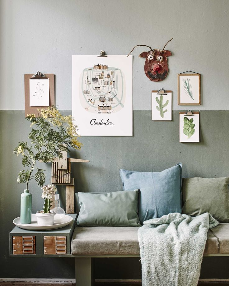 Home decorating diy projects speelkwartier een werkplek for Decorative objects for home