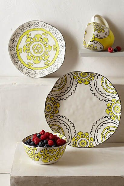Gloriosa Dinner Plate #anthropologie #PintoWin