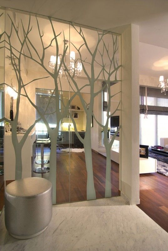 Mirrors Home Decor Ive Thought About Doing This Great Way To Make A Mirrored Closet Door Look Much