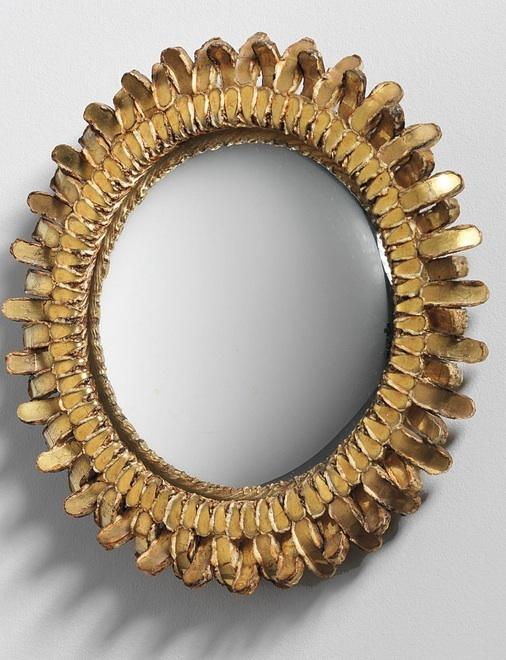Mirrors Home Decor Line Vautrin Gerbera Mirror