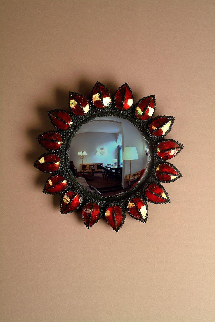 Mirrors home decor miroir par line vautrin 1960 mirror for Miroir sorciere line vautrin