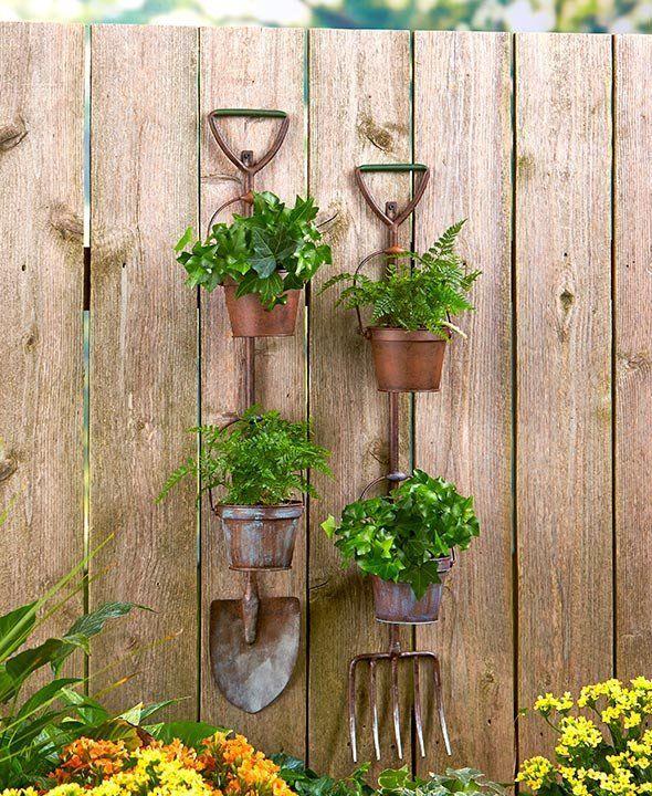 Outdoor Decorating Gardening Display, Country Outdoor Decor