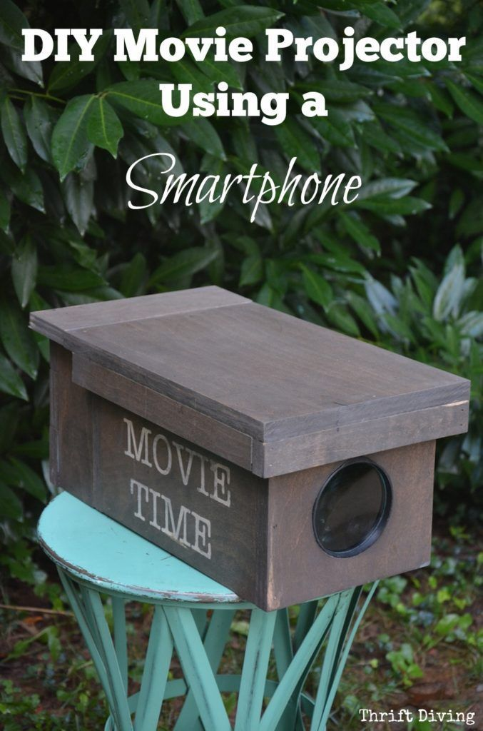 DIY Movie Projector Using a Smartphone - Thrift Diving...