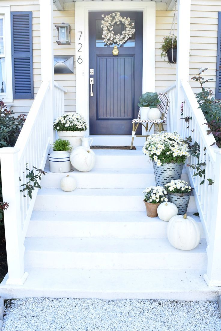 Outdoor Decorating Gardening Fall Blogger Home Tour Decor Ideas
