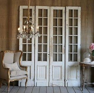 Relics, Sculpture, Motifs for the Home: Repurposed Doors ...