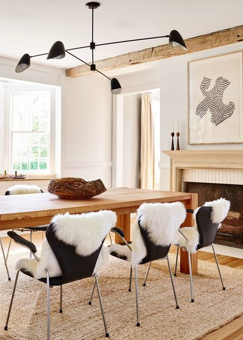 Rugs Home Decor A Modern Neutral Dining Room With Tons Of Texture