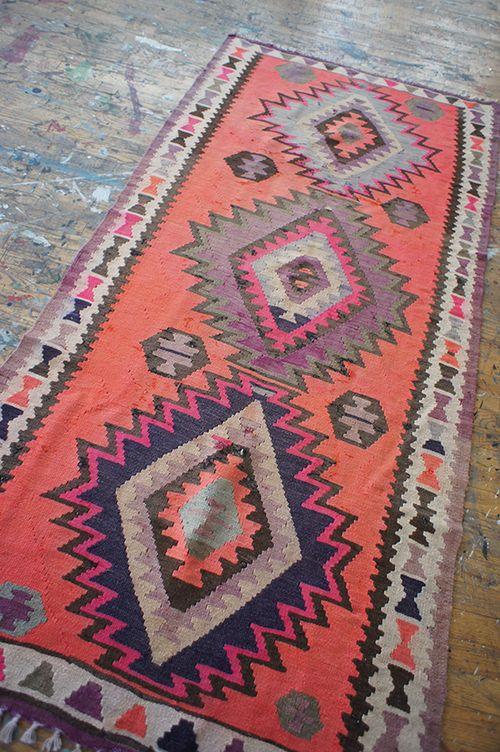 geometric rug...