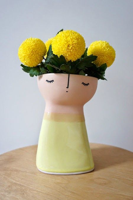 Super sweet handmade ceramics by Vanessa Bean