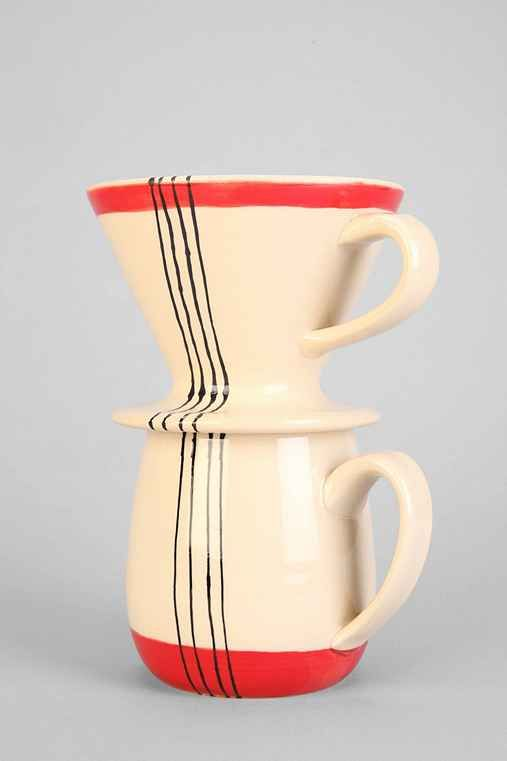 Vases home decor toast ceramics pour over coffee set for Decorative objects for home
