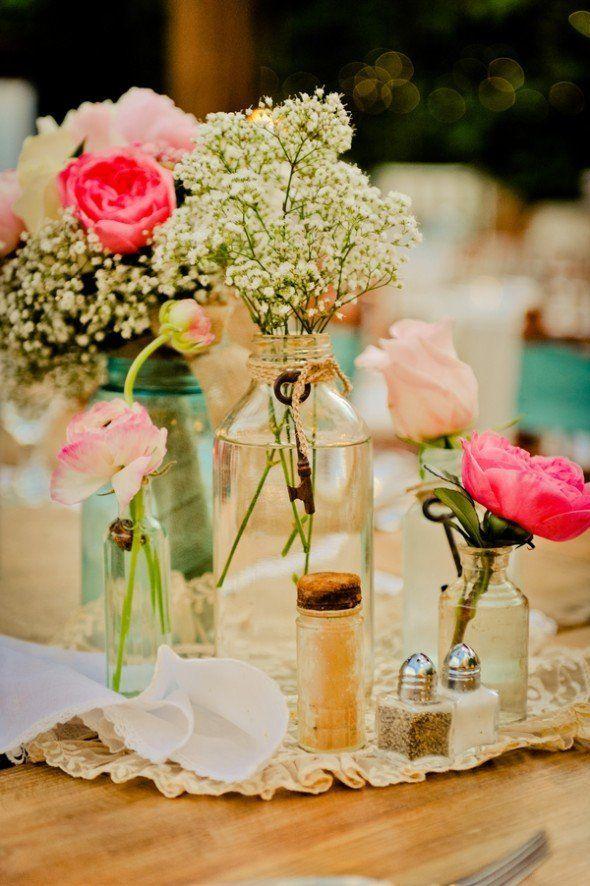 20 arranjos DIY para o seu casamento | Casar é um barato...