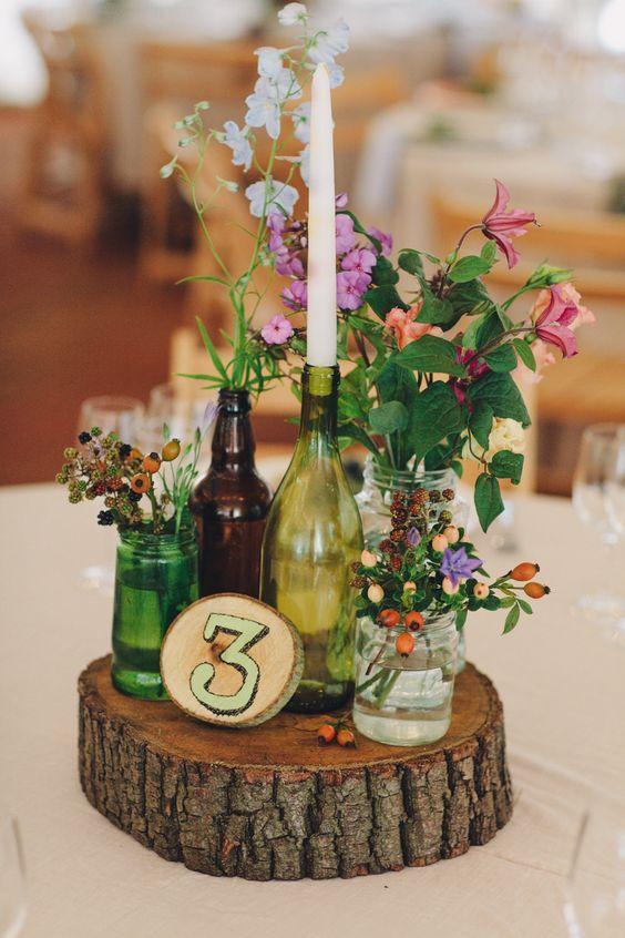 Wedding Decorative Bottles 20 Wine Bottle Decor Ideas To Steal For