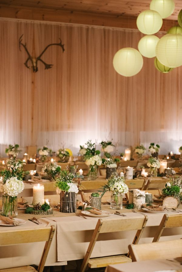 Woodland Michigan Barn Wedding | Ruffled