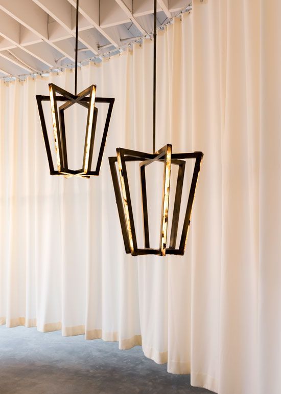 Lamps and lighting home decor the new gallery debuts in for Decorative objects for home