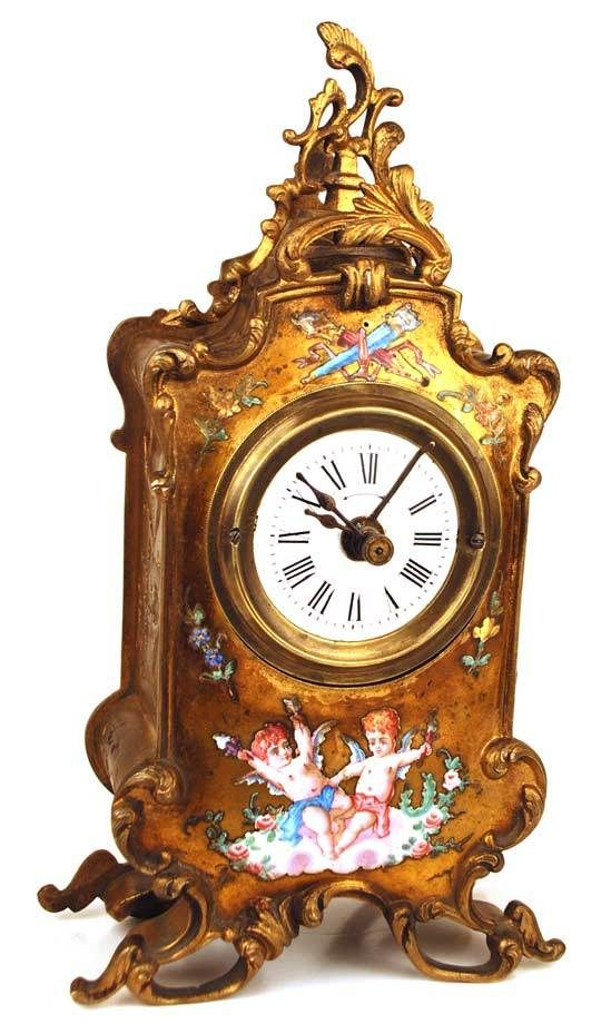 Antique clocks antique french bronze dor clock decor object your daily dose of best - Antique clock designs for your home ...
