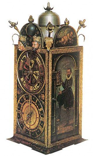 iron clock, Strasbourg, XVI
