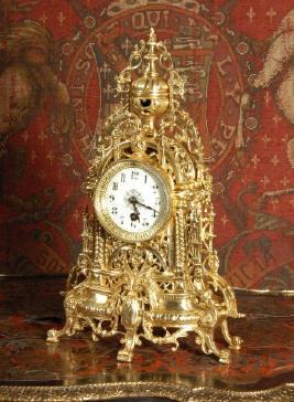 Antique Clocks Sevres Porcelain And Gilt Rococo Clock