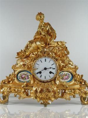 Antique Clocks Stunning Ormolu Porcelain French Antique Mantel Clock Ebay Decor Object Your Daily Dose Of Best Home Decorating Ideas Interior Design Inspiration