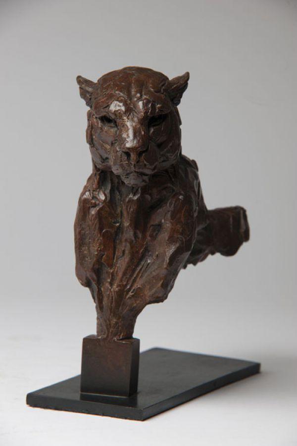 Best Cats sculptures: #Bronze #sculpture by #sculptor David Mayer