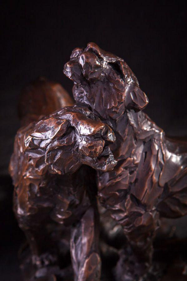 Bronze Cats Wild and Big Cats sculpture by artist Matt Withington titled: 'S...