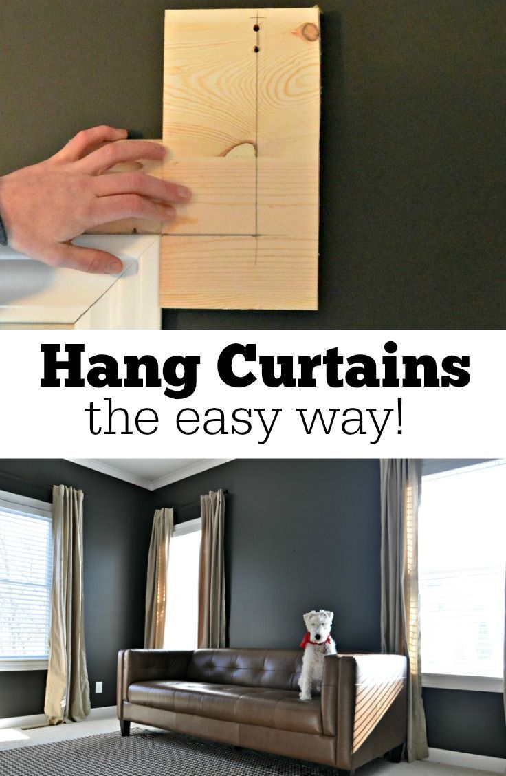 Best Decor Hacks Hang Curtains The Easy Way With This