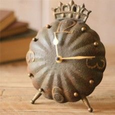 Beautiful Clock With Crown On Top    $22.00 @ www.antiquefarmho...