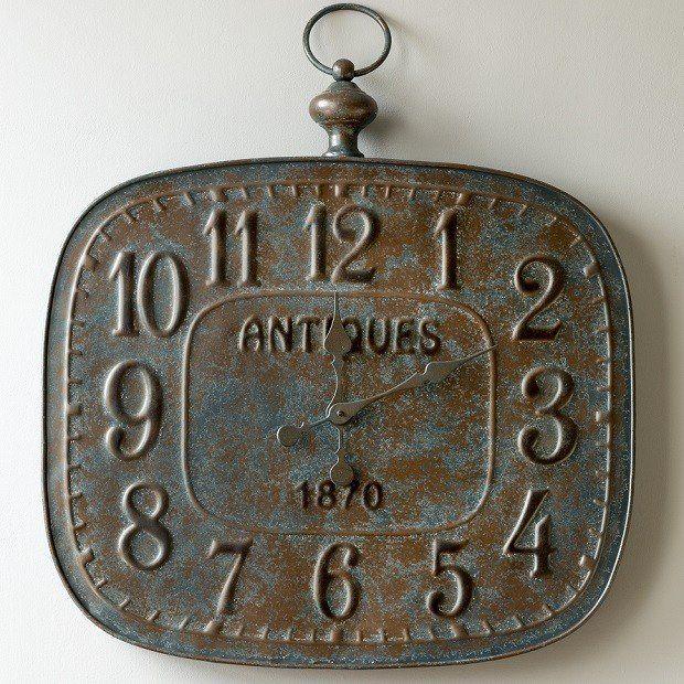 Embossed Clock | Large Wall Clock