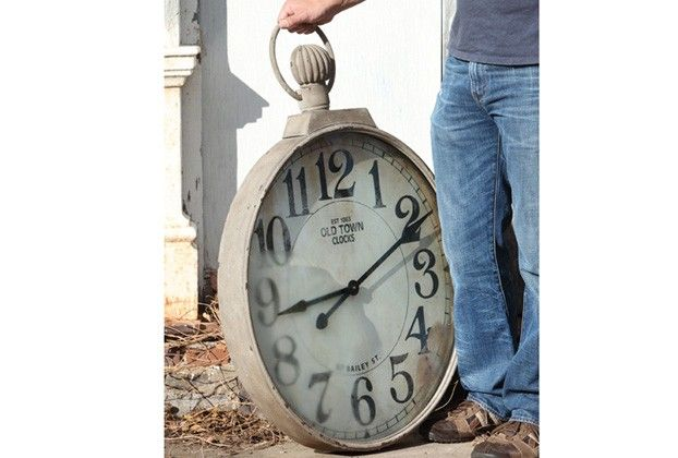 Industrial Collection - Old Town Wall Clock - From Antiquefarmhouse.com - www.an...