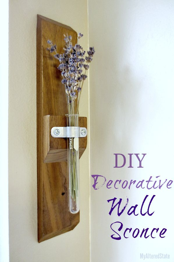 Decor Diy Inspiration Decorative Wall Sconce Lavender