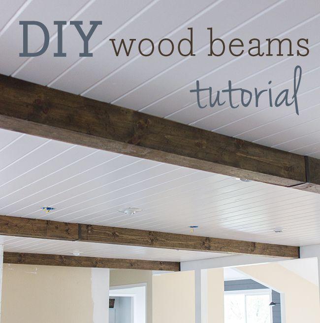 Decor diy inspiration kitchen chronicles diy wood beams for Best diy interior design blogs