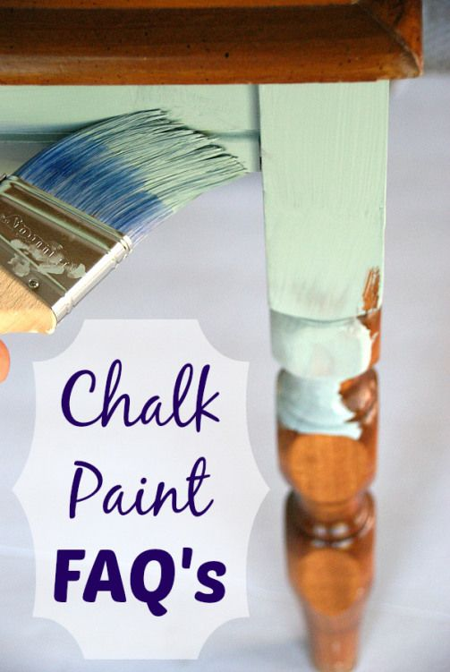 Answers to the most common questions about chalk paint. canarystreetcraft......
