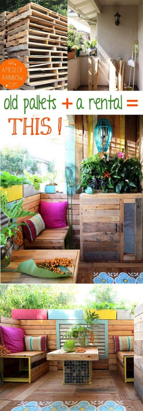 Decor hacks build a stunning tropical outdoor room with for Outdoor decorating hacks