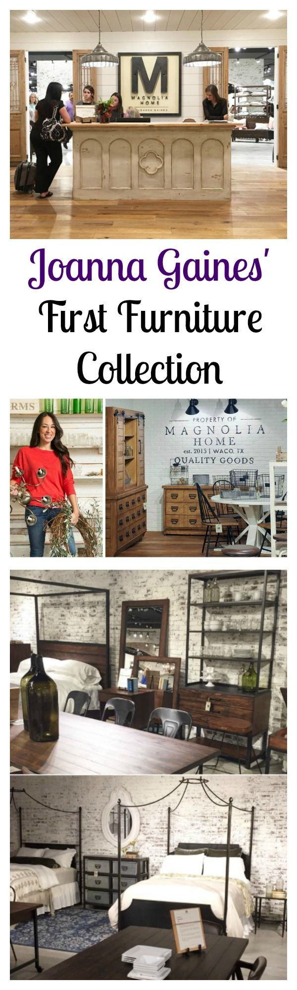 Joanna Gaines' First Home Furniture Collection is More Beautiful Than You Ever Imagined