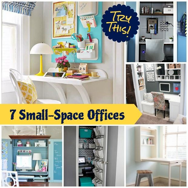Decor Hacks How To Create A Small Space Office In A