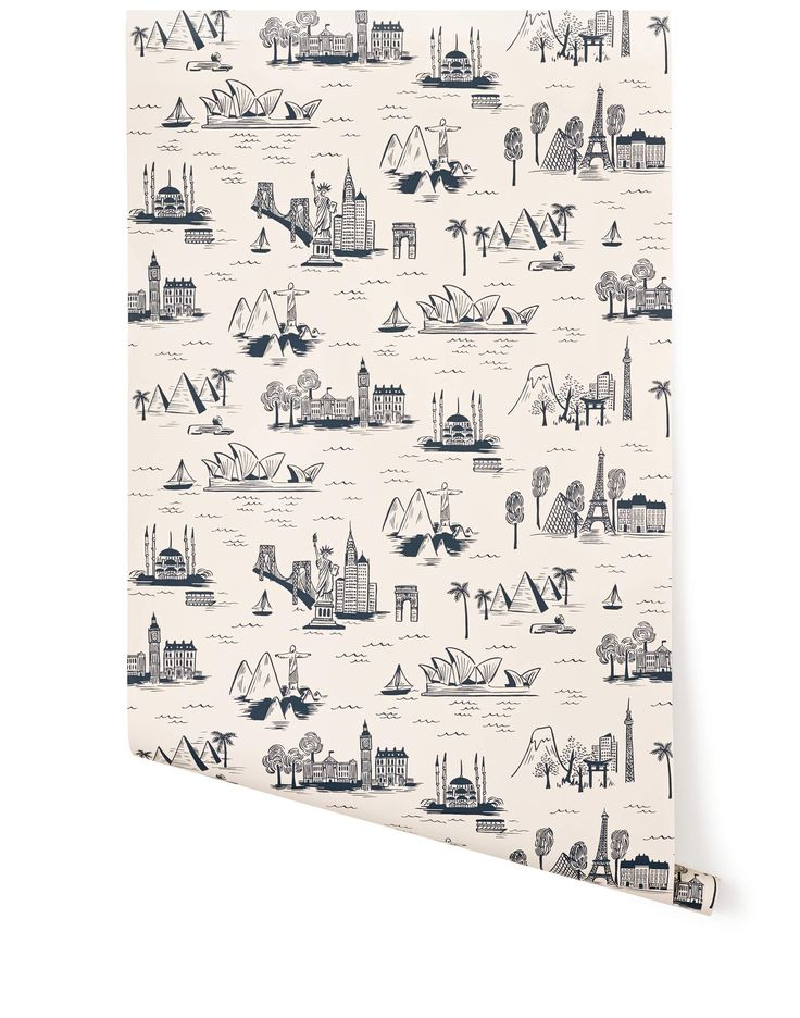 Cities Toile (Parchment), Roll