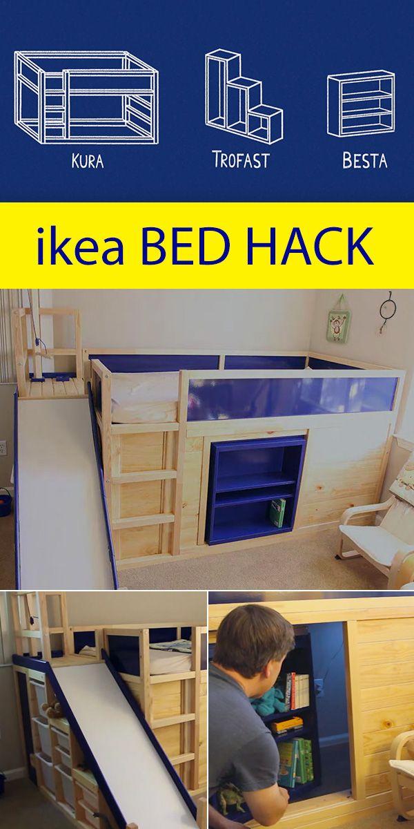 Ikea Kids Bed Hack With Secret Room