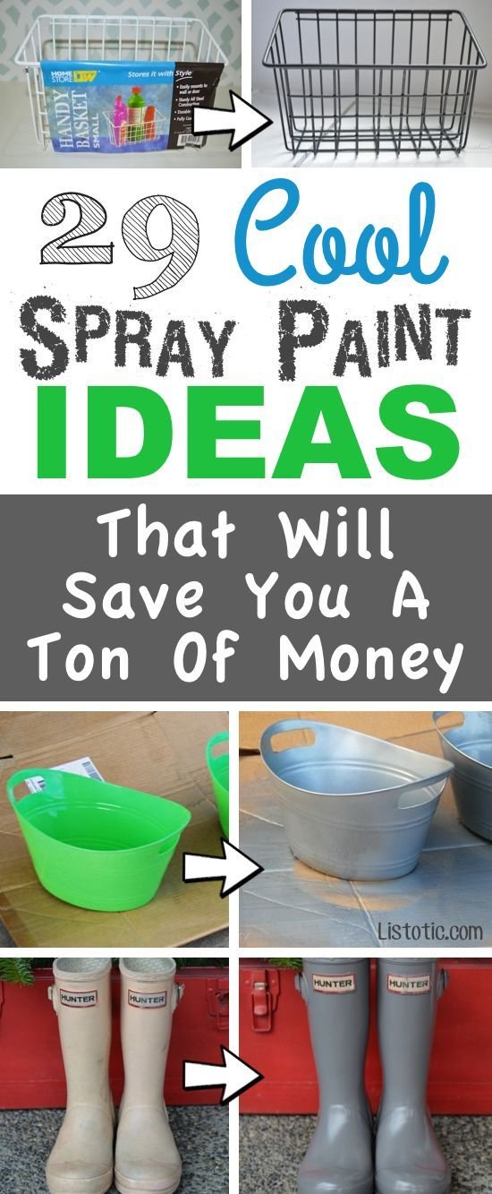 decor hacks lots of diy spray paint ideas for home