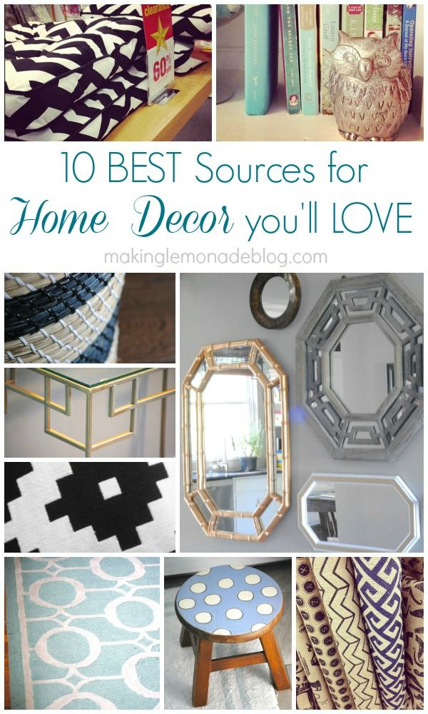 Decor Hacks Shhhh Here 39 S A Blogger 39 S Top Secret Source Book With Favorite Places To Score