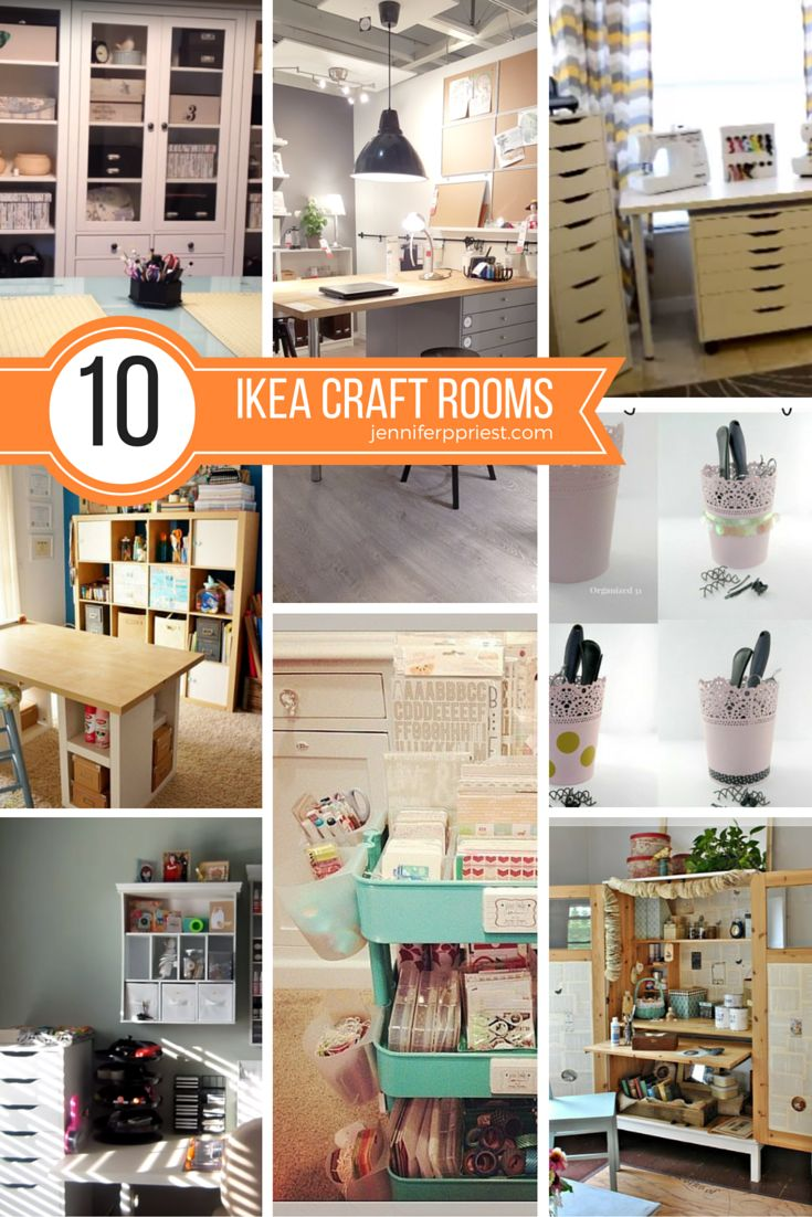 Decor Hacks The Best Idea For Craft Rooms With Ikea Furniture And