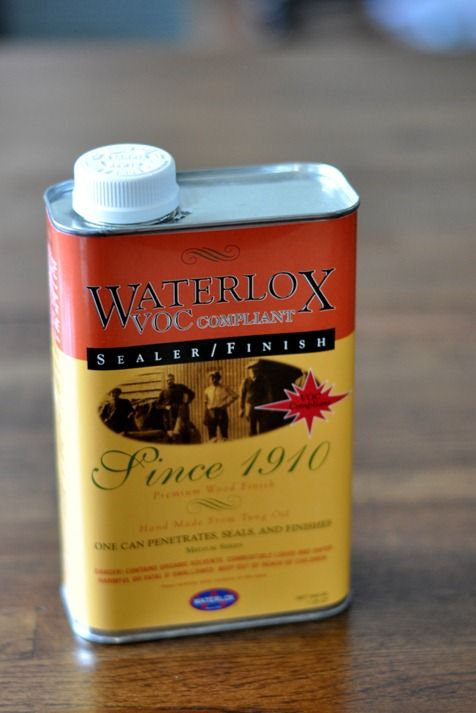 Decor Hacks Waterlox Finish Recommended To Help Seal