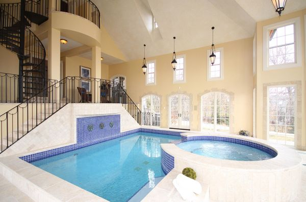 Decor - Pools : Amazing Indoor Pools House from Indoor Swimming Pool ...