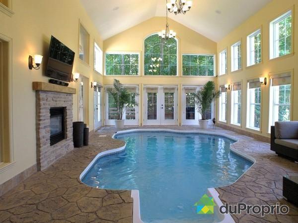 indoor pool cool...