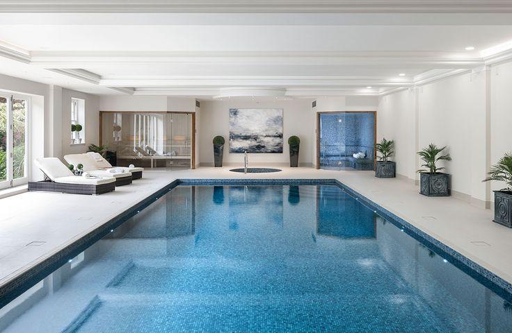 Decor pools indoor swimming pool design construction for Indoor swimming pool builders