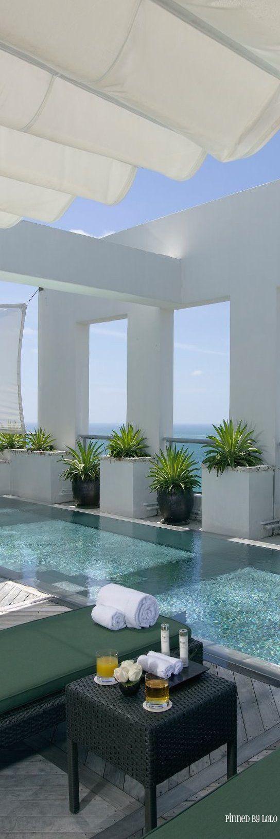 32 Best Beach House Interior Design Ideas And Decorations For 2017: Decor - Pools : Millionaire Beach House- Via LadyLuxury... - Decor Object