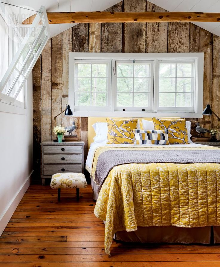 rustic bedroom daily interior design inspiration | Furniture - Bedrooms : House tour: Rustic master bedroom ...