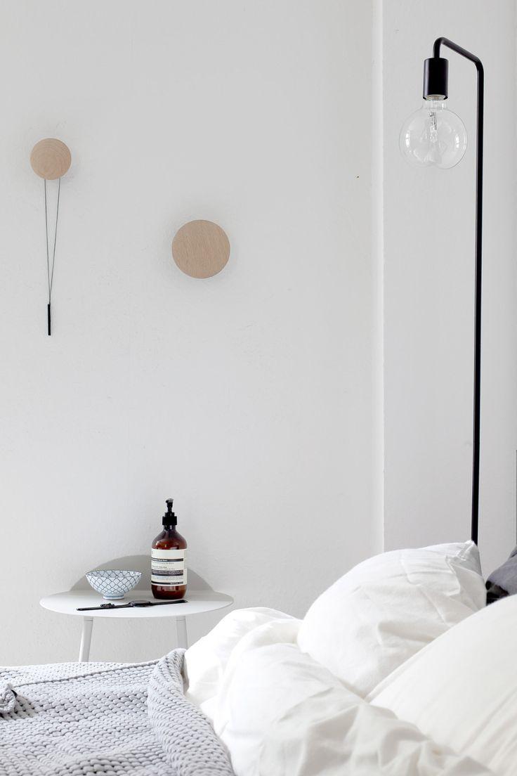 Minimal #bedroom - #scandinavian style